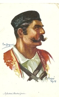 ( MILITARIA )(  MONTENEGRO   )( ILLUSTRATEUR) ( EMILE DUPUIS )( 1914 )( CETTIGNE ) - Montenegro