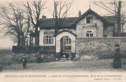 CPA - Belgique - Brussels - Bruxelles - Schaerbeek - Café Du Vieux Schaerbeek - Rue De La Consolation - Schaarbeek - Schaerbeek