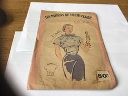Les Patrons De Marie-Claire élégance Taille 44 Blouse - Patrons