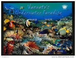 """Vanuatu - Mi.Nr. 1217 / 1228 - Satz """"Unterwasserparadies"""" ** / MNH - Vanuatu (1980-...)"""