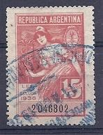 190031582  ARGENTINA   YVERT   FISCAL  Nº - Otros