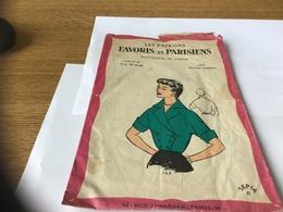 Les Patrons Favoris Et Parisienne Nouveautés De Saison Lose Kimono Taille 44 - Patrons