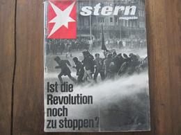 MAGAZINE STERN APRIL 1968   N 17 IST DIE REVOLUTION NOCH ZU STOPPEN? - Voyage & Divertissement