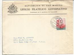 SAN MARINO CC A USA 1960 - San Marino