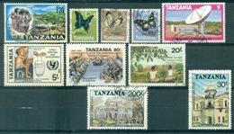 Tanzanie - 1965/1992 - Lot Timbres Oblitérés - Nºs Dans Description - Tanzania (1964-...)