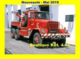 AL SP 84 - CG Ward - POITIERS - Sapeurs-Pompiers De La Vienne - Poitiers