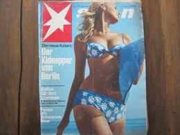MAGAZINE STERN APRIL 1967   N 15 DER NEUE KOLARZ DER KIDNAPPER VON BERLIN - Voyage & Divertissement