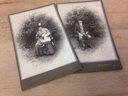 AUSTRIA-FAMILIE DAZUMAL - ANONYM - MUTTER MIT KLEINKIND - VATER - SONNTAGSSTAAT - JUNI 1906 - EXTRA ! - Persone Anonimi