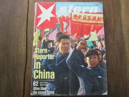 MAGAZINE STERN SEPTEMBER 1967   N 38 STERN REPORTER IN CHINA - Voyage & Divertissement