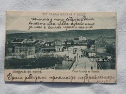 SERBIA Nisch Niš  TRG KRALJA MILANA  A 189 - Serbia