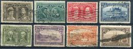 CANADA - SERIE N° 85 A 92 OBL. - B/TB - 1903-1908 Règne De Edward VII