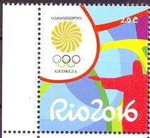 Georgie Georgia 2016 Rio Olympic Games Jeux Olympiques  MNH** - Georgia