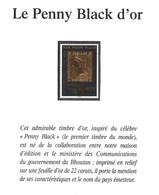 BHOUTAN 1129** Timbre Feuille D'or  Yvert & Tellier = 13,00 Euro - Bhoutan