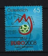 Österreich - Mi-Nr. 2707 Fußball-Europameisterschaft, Österreich Und Schweiz Gestempelt - 1945-.... 2. Republik