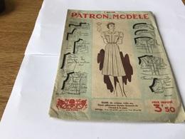 Patron Modèle Robe - Patrons