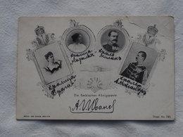 SERBIA Royal Family , Serbian    A 189 - Serbia
