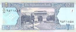 Afghanistan 2 Afghani - Afghanistan