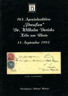 """103. Derichs Auktion 1993 Spezialauktion """"Preußen"""" - Preussen"""
