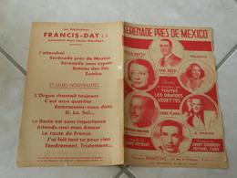 Sérénade Près De Mexico-(Paroles Louis Poterat)-(Musique Jimmy Kennedy & Michael Carr)Partition 1939 - Musique & Instruments