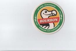 Sous Bock ---  BOURBON  - - La Bière Réunionnaise --- Rien Au Dos - Beer Mats