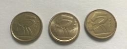 SPAGNA  ESPANA - 1990 E 1998 - 3 Monete 5 PESETAS  Ottime - [ 5] 1949-… : Regno