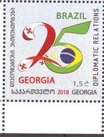 Georgie Georgia 2018 Bresil Brasil MNH** - Georgia