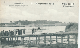 100/29 - Carte-Vue TAMISE TEMSCHE TEMSE Meeting 1912 - Concours Hydro-Aéroplanes Biplan Belge JERO - Etat Neuf - Meetings