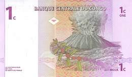 1 Cent Franca Congo 1997 - Kongo