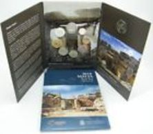 Malte 2018 : Coffret BU De 9 Pièces Dont La 2€ Commémorative 'Temple De Mnajdra' Avec Le 'F' - Disponible En France - Malte