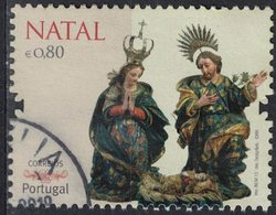 Portugal 2013 Oblitéré Used Natal Noël Adoration Du Christ SU - Usati