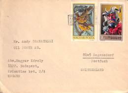 [900850]TB//-Hongrie  - FDC, Documents, Cultures, Costumes, Animaux, Oiseau - Oiseaux