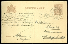 HANDGESCHREVEN BRIEFKAART Uit 1921 Van HERPEN Naar DEN BOSCH  (11.555r) - Ganzsachen