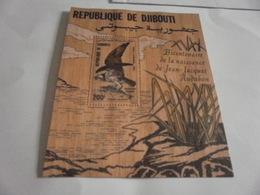 Miniature Sheet Perf 1985 Bi-centenary Audubon - Djibouti (1977-...)