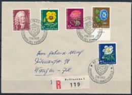 1958 TAG DER BRIEFMARKE Mit Pro Juventute Frankatur - BELLINZONA - Lettres & Documents
