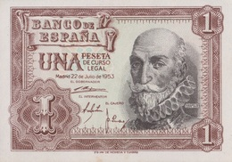 Espagne / 1 Peseta / 1953 / P-144(a) / UNC - [ 3] 1936-1975 : Regency Of Franco