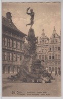 Anvers Grand'Place Fontaine Brabo - Antwerpen