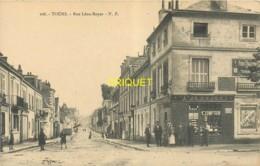 37 Tours, Rue Léon Boyer, Animation Devant Le Tabac, Beau Visuel Pas Courant - Tours