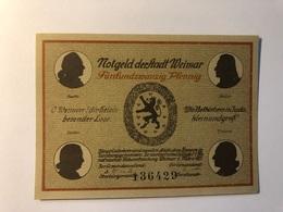 Allemagne Notgeld Weimar 25 Pfennig - [ 3] 1918-1933 : République De Weimar