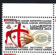 Georgie Georgia 2010 Rugby MNH** - Géorgie