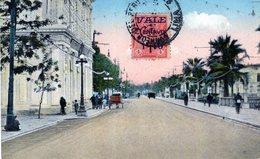 PERU LIMA CENTENARIO 1921 PASEO 9 DE DICIEMBRE POSTED 1926  STAMP (12) - Peru
