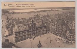 Anvers Panorama Grand'Place Et Escaut - Antwerpen