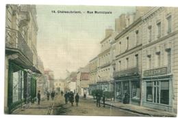 44 - Châteaubriant - Rue Municipale - Carte Tissee - Châteaubriant