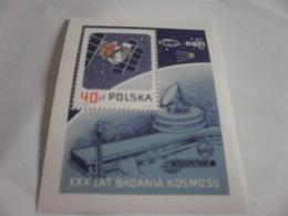 Miniature Sheet Perf Space Exploration - 1944-.... Republic