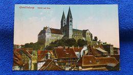 Quedlinburg Schloss Und Dom Germany - Quedlinburg