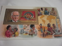 Miniature Sheet Perf Rotary International - Guinea (1958-...)