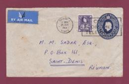 200519 - KENYA UGANDA TANGANYKA - Entier Postal Pour L' Ile De La Réunion 1963 - - Kenya, Uganda & Tanganyika