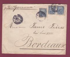 200519 - BRESIL - Lettre Pour La France Par S/S GARONNA  - Oblitération CORREIA BAHIA 1915 - Brésil