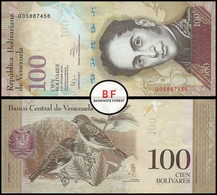 Venezuela   100 Bolivares   2012   P.93g   Q 05887456   XF - Venezuela