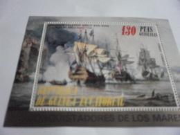 Miniature Sheet Perf Conquistadors - Equatorial Guinea