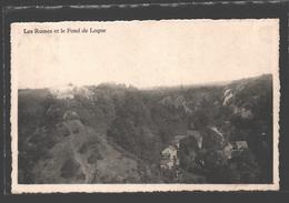 Logne - Les Ruines Et Le Fond De Logne - Ferrieres